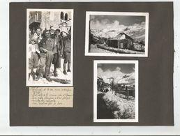 LIBAN VILLAGE DE BECHARRE (BCHARRE) ET VALLEE DE LA QADISHA 1940 (6 PHOTOS TIREES D'UN ALBUM) VILLAGE MILITAIRES - Lieux