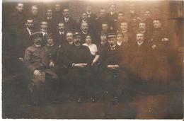 Fotokaart Carte Photo - Vluchtelingen Comité - Baarle Nassau Grens 1914 Stationschef ( Wolkers Neyts ) - Nederland