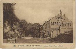 Domaine D'Ardenne,   Houyet  S/Lesse   -   Entrée Du Château Et Route De Dinant   -   Hotel   Marquisette - Houyet
