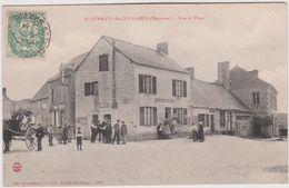Mayenne : ST  GERMAIN  De  COULAMER : Rue  Et Place  ( Destinée  à Le  Mans) - Altri Comuni