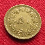 Iran 50 Dinars 1940 / SH 1319 KM# 1142 Lt 431  Irão Persia Persien - Iran