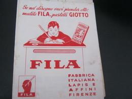 CARTA ASSORBENTE PUBBLICITARIA FILA - Stationeries (flat Articles)