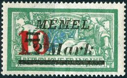 MEMEL, TIPO MERSON, 1923, FRANCOBOLLI NUOVI (MLH*) Michel 121   Scott 97 - Memel (1920-1924)