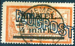 MEMEL, POSTA AEREA, AIRMAIL, TIPO MERSON, 1921, FRANCOBOLLI USATI Michel 46   Scott C5 - Nuevos