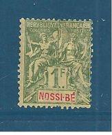 France Colonies Timbres De Nossi Bé De 1894  N°39 Neuf * - Nossi-Bé (1889-1901)