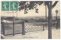 Cpa  Rognac - Passage à Niveau - Francia