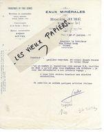 10 - Aube - PINEY - Facture JUBE - Transports, Matériaux De Construction, Eaux Minérales - 193? - REF 101A - 1900 – 1949