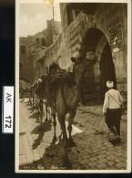 AK172, Syrien, Aleppo, Une Rue, Rückseite Mit Text - Syrien