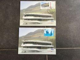 Luxembourg Carte Maximum Marie Astrid Bateau - Maximum Cards