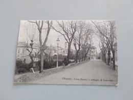 CARTOLINA CHIAVARI - CORSO GENOVA E DETTAGLIO DI PANORAMA - Genova