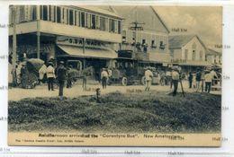 Guyana British Guiana An Afternoon Arrival Corentyne Bus New Amsterdam 1910s Omnibus Postcard Berbice - Postcards