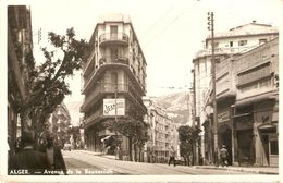 Carte D'Algérie, Alger, Avenue De La Bouzaréah, Photo Albertis, écrite En 1946, Bon état, Garage - Algerien