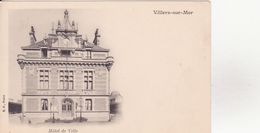 CPA - VILLERS SUR MER - Hôtel De Ville - Villers Sur Mer