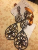 Star Line Bijou Orecchini Bigiotteria Con Pietre Swarovski Senza Nichel Nuovi - Jewels & Clocks