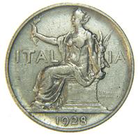 [NC] ITALIA - REGNO - VITTORIO EMANUELE III - BUONO 1 LIRA 1928 - 1861-1946 : Regno