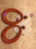 Orecchini Plastica E Swarovski Marcati Brado Nickel Free Anallergici Nuovi - Jewels & Clocks
