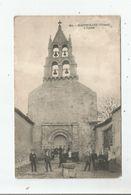MAZEROLLES (VIENNE) 484 L'EGLISE (BELLE ANIMATION) 1939 - Autres Communes
