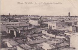 Maroc : Lot De 2 CPA - Marrakech -Vue Prise De La Montagne Du Mehla + Porte De Bab Khmich  - Voir 2 Scans - Marrakech