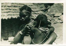 13722 -  AFRIQUE Photo  Village Cote D'Ivoire - Cdt De L'air En AOF CENTRE D'EXPLOITATION PHOTOGRAPHIIQUE N°10 La Mére E - Africa