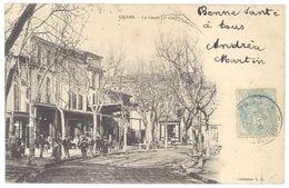 Cpa  Grans - Le Cours ( 2ème Vue ) - France