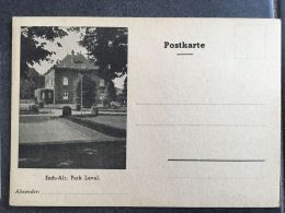 Luxembourg Carte Esch Alzette - Stamped Stationery