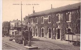 Jassans La Gare Du Sud Est - Francia