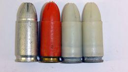 Lot De Cartouches à Blanc 9mm Parabellum - Sammlerwaffen