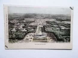 CPA 78 - Panorama De Versailles, Carte Colorée, Dos Simple 1903  - NO REPRO - Versailles (Château)