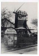 PARIS  18° --- PARIS  1900 -- Montmartre --Construction Du Moulin De La Galette - District 18