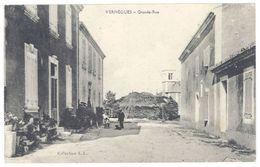 Cpa  Vernègues - Grande Rue - France