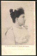 Cartolina S.A.R. Laetitia Di Savoia Bonaparte - Familles Royales