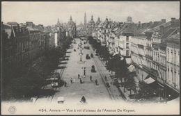 Avenue De Keyser, Anvers, 1913 - Hermans CPA - Antwerpen