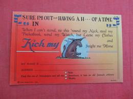 Kick My  ----> Ref 3029 - Humour