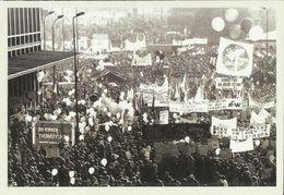 BELGIQUE - Carte N° 120 Du SOIR - Manifestation Pacifiste Dans Les Rues De Bruxelles Le 16 Avril 1989. - Manifestations