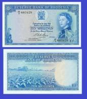 Rhodesia 10 Shilling 1964  - REPLICA --  REPRODUCTION - Pérou