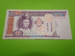 Mongolie, Billet De 100 Togrog - Mongolie