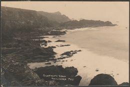 Pentreath Beach, The Lizard, Cornwall, 1923 - Hawke RP Postcard - England