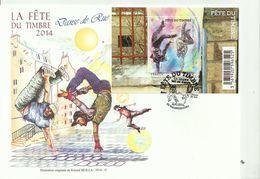 Bloc De La Fête Du Timbre 2014 N°4914 Oblitéré Premier Jour - Street Dance - France