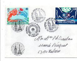 OBLITERATIONS TUNNEL SOUS LA MANCHE 1994 - Commemorative Postmarks