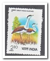 India 1980, Postfris MNH, Birds - India