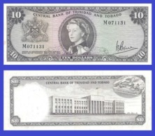 Trinidad Tobago 10 Dollars 1964  - REPLICA --  REPRODUCTION - Billets