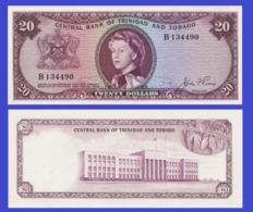 Trinidad Tobago 20  Dollars 1964  - REPLICA --  REPRODUCTION - Billets