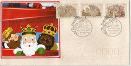 AUSTRALIE. L'Esprit De Noël   FDC 1991  (Les Rois Mages) - Christianisme