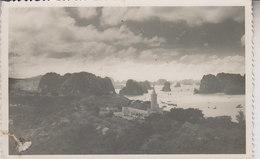 BAIE D ' ALONG   CARTE PHOTO    1954 - Viêt-Nam