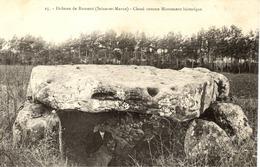 77 Le Dolmen De RUMONT - Classé Monument Historique - RARE - Francia