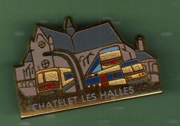 SNCF *** RER *** CHATELET LES HALLES *** Signe ELIXYR *** TRAINS-01 - TGV
