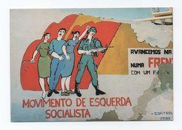 BEJA ART POSTCARD 1970 Years BEJA ADVERT PROPAGANDA POLITICAL ALENTEJO PORTUGAL - Beja
