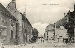 CPA - OISELAY (70) - Aspect De La Route De Besançon Dans Les Années 20 - Francia