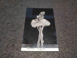 ANTIQUE PHOTO POSTCARD DANCE BALLET NADIA NERINA LE LAC DES CYGNES ACT 2 UNUSED - Baile