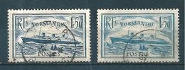 France Timbres De 1935/36  N°299 Et 300 Oblitérés Cote 22,30€ - Used Stamps